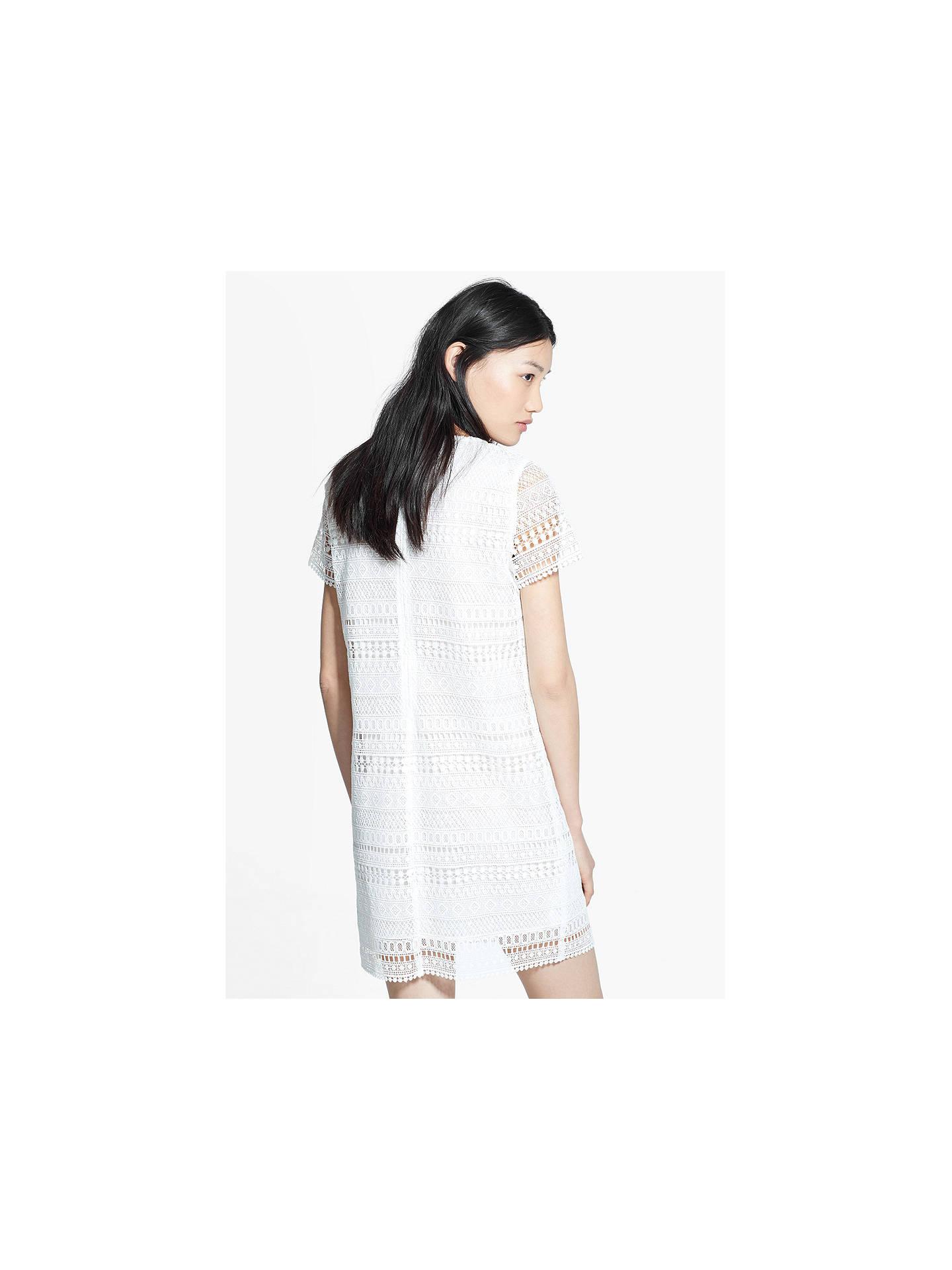 b436de9e9171 ... Buy Mango Geometric Pattern Openwork Dress