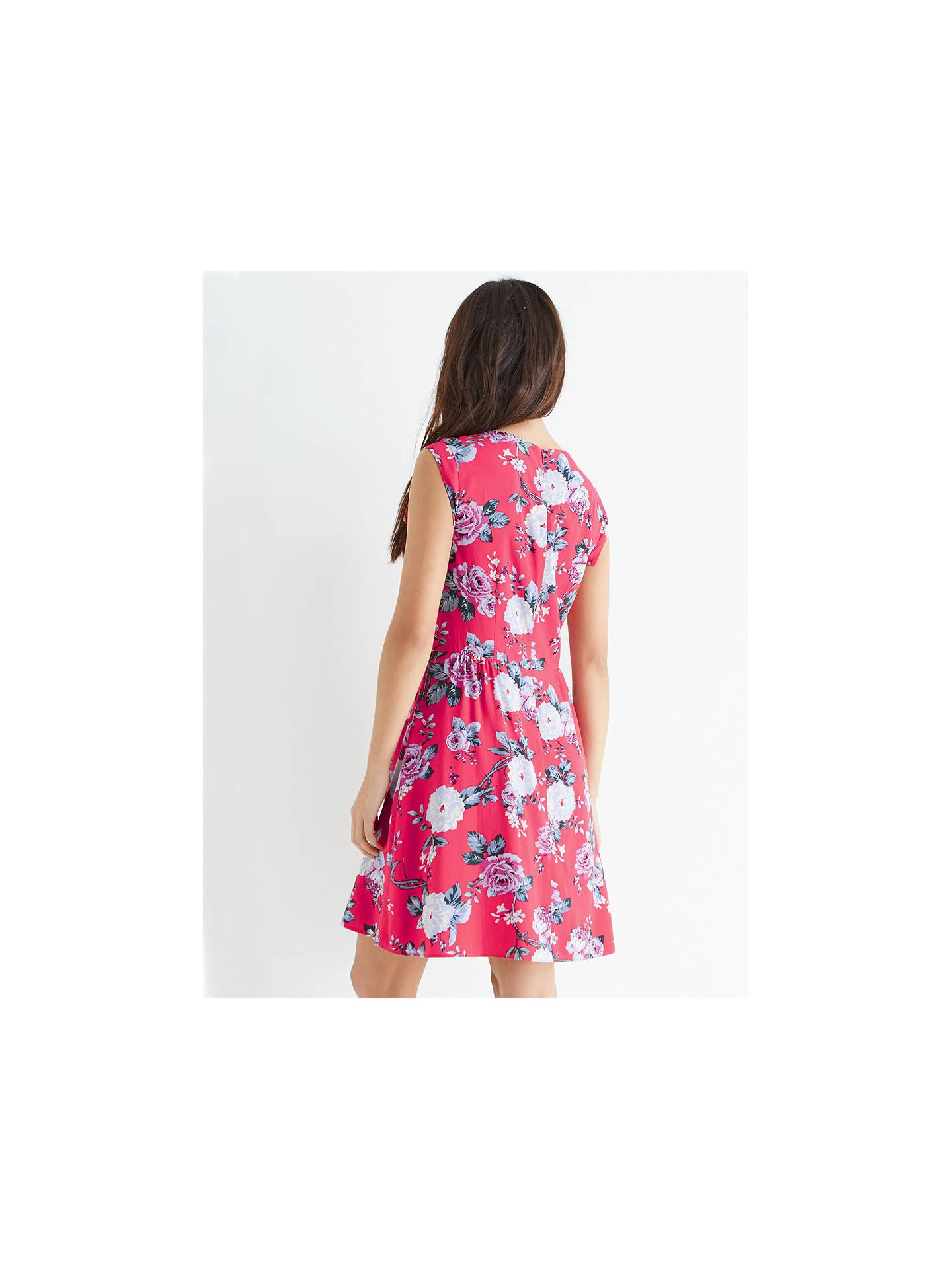 e9d90a738b9b ... Buy Oasis Rose Skater Dress, Coral, 8 Online at johnlewis.com ...