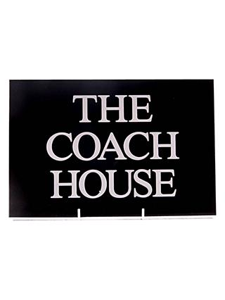 The House Nameplate Company Personalised Slate House Sign