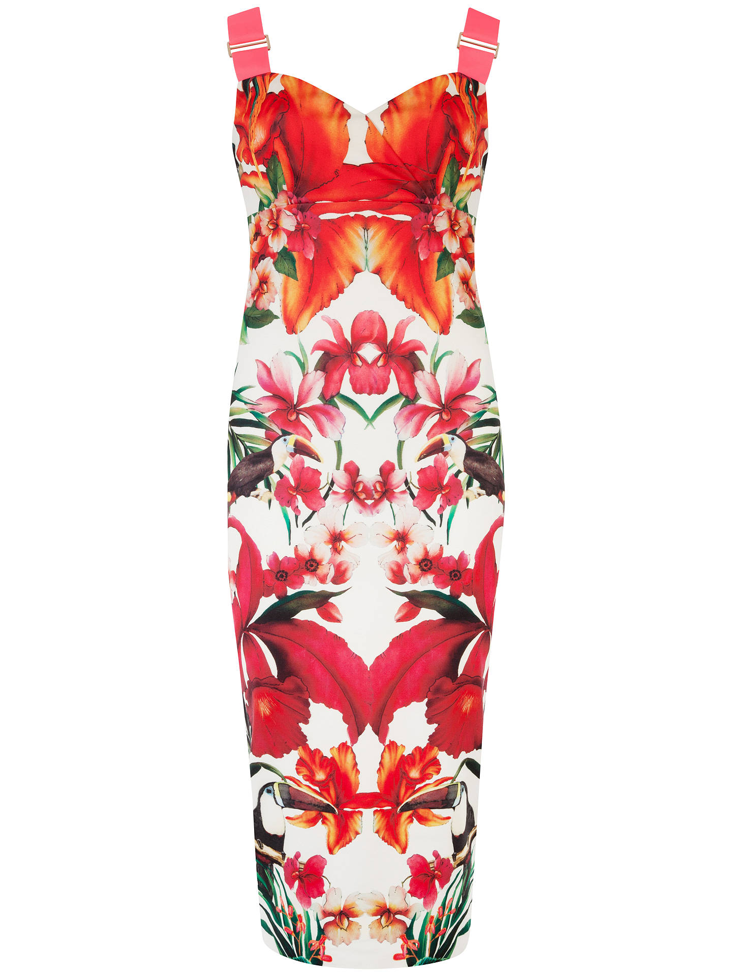 008177d219c55 Buy Ted Baker Jameela Tropical Toucan Midi Dress