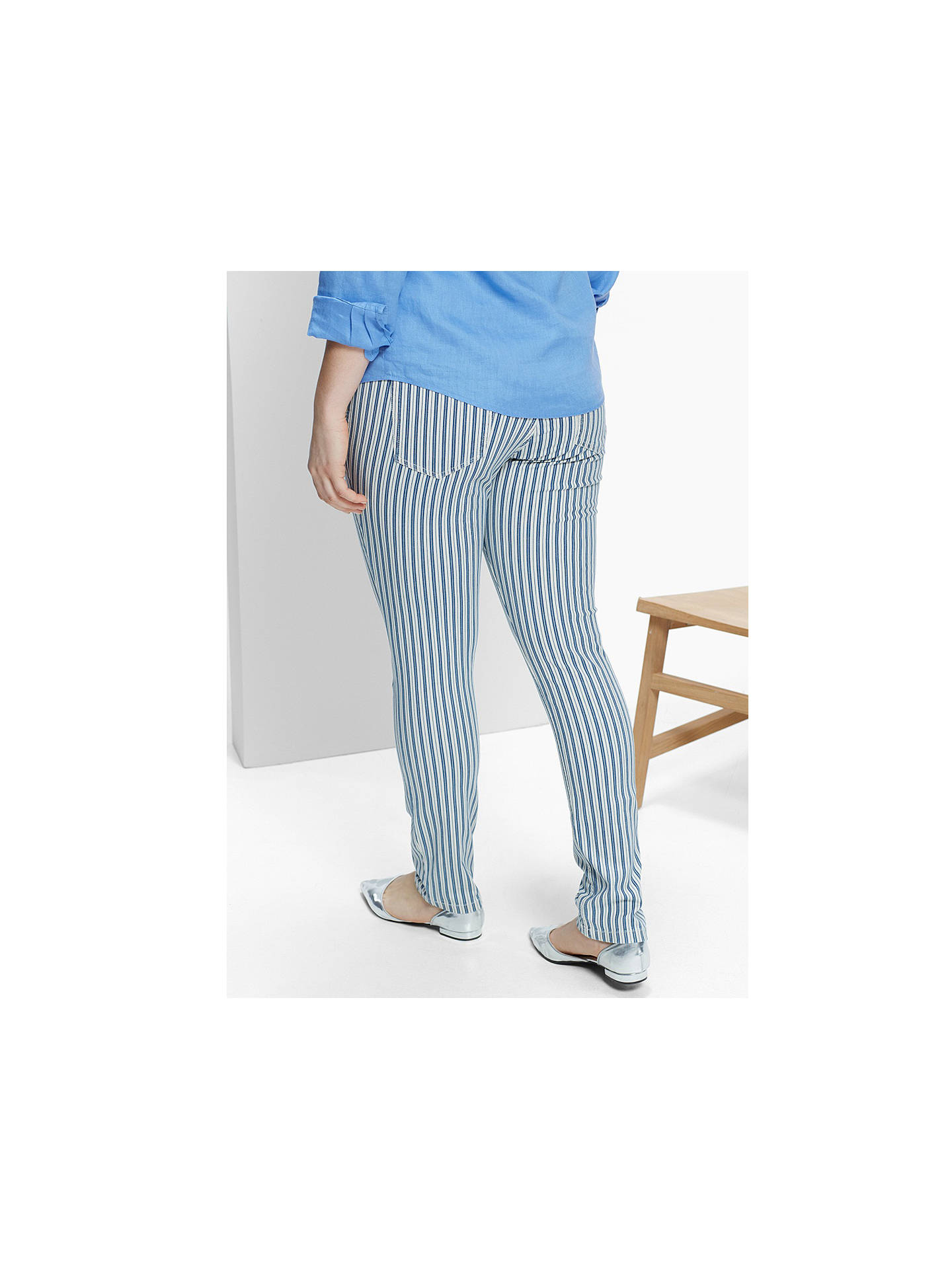 ... BuyVioleta by Mango Super Slim Striped Jeans f188f0cd2