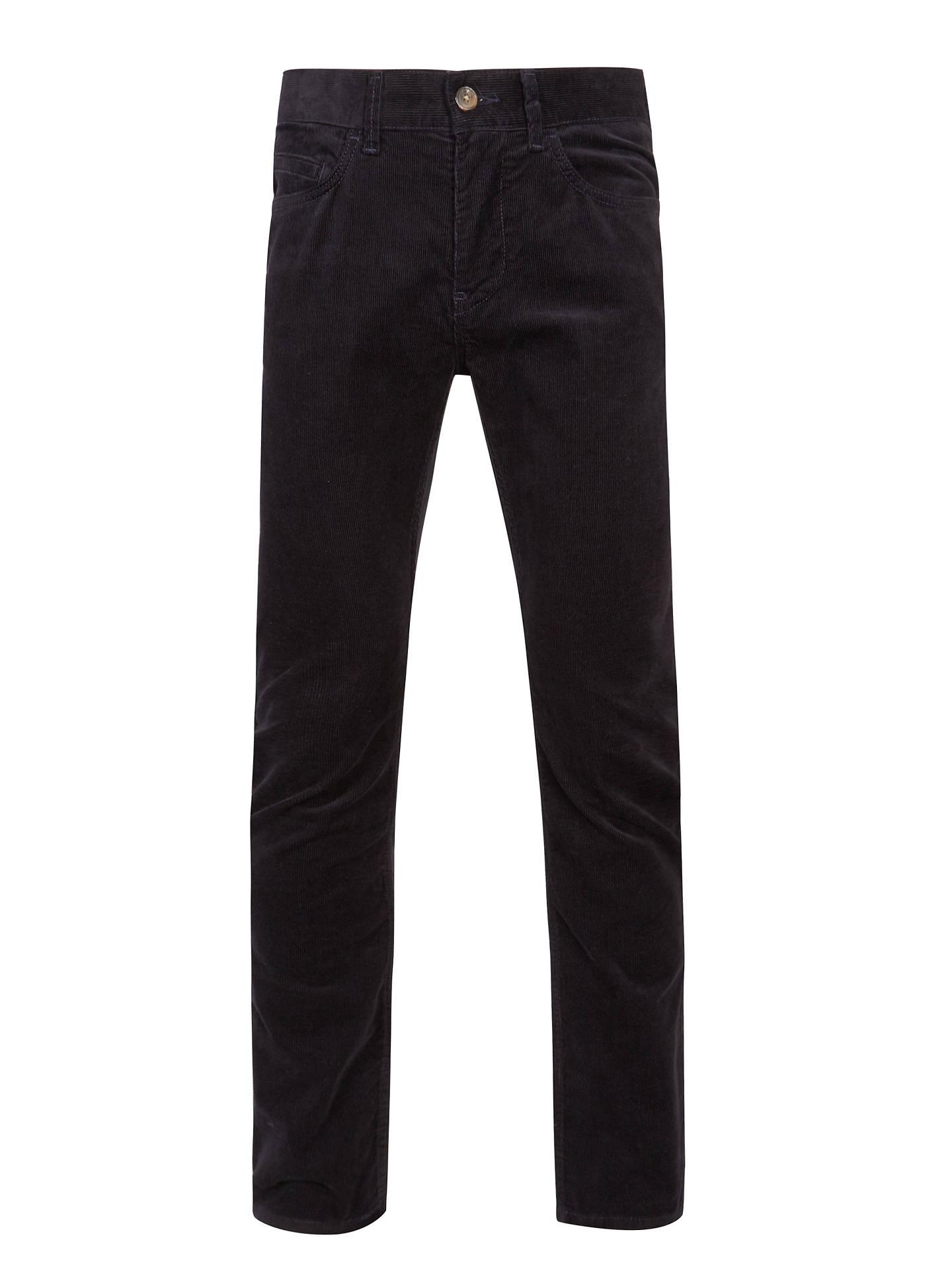 064cdcd792055 Buy Tommy Hilfiger Mercer Stretch Corduroy Trousers, Navy Blazer, 32R  Online at johnlewis.