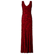 Buy Phase Eight Collection 8 Rosa Tapework Dress, Ruby Online at johnlewis.com