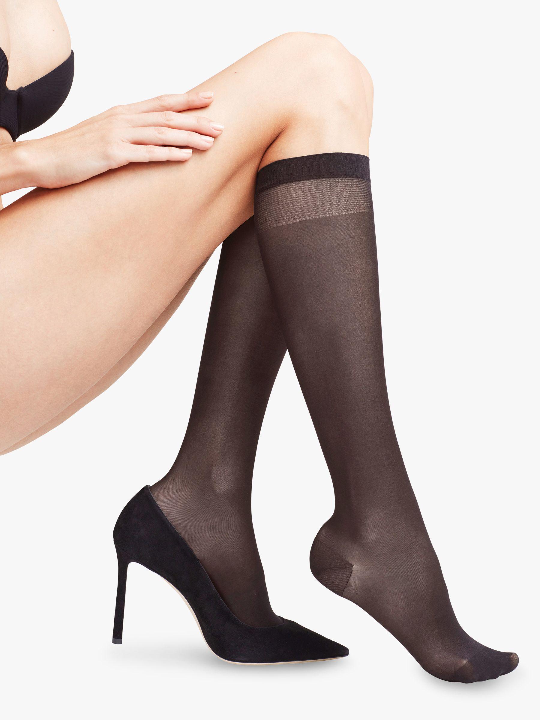 1d3c236b5a4 FALKE Leg Vitalizer 20 Denier Knee High Socks