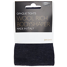 Buy John Lewis Wool Blend Bodyshaper Opaque Tights Online at johnlewis.com