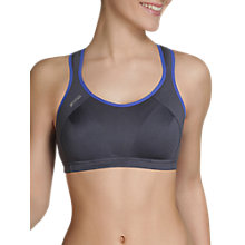 Buy Shock Absorber Active Multi Sports Support Bra, Dark Grey/Blue Night Online at johnlewis.com