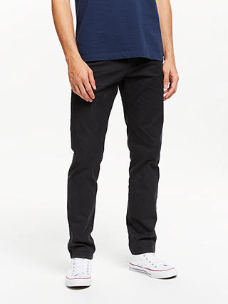 Buy Scotch & Soda Stuart Peached Twill Chinos, Night, 32L Online at johnlewis.com