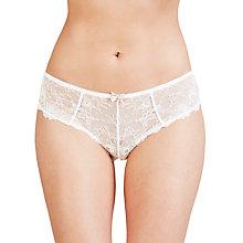 Buy COLLECTION by John Lewis Genevieve Lace Briefs, White Online at johnlewis.com