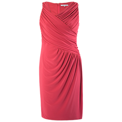 Chesca Ruched Dress, Poppy