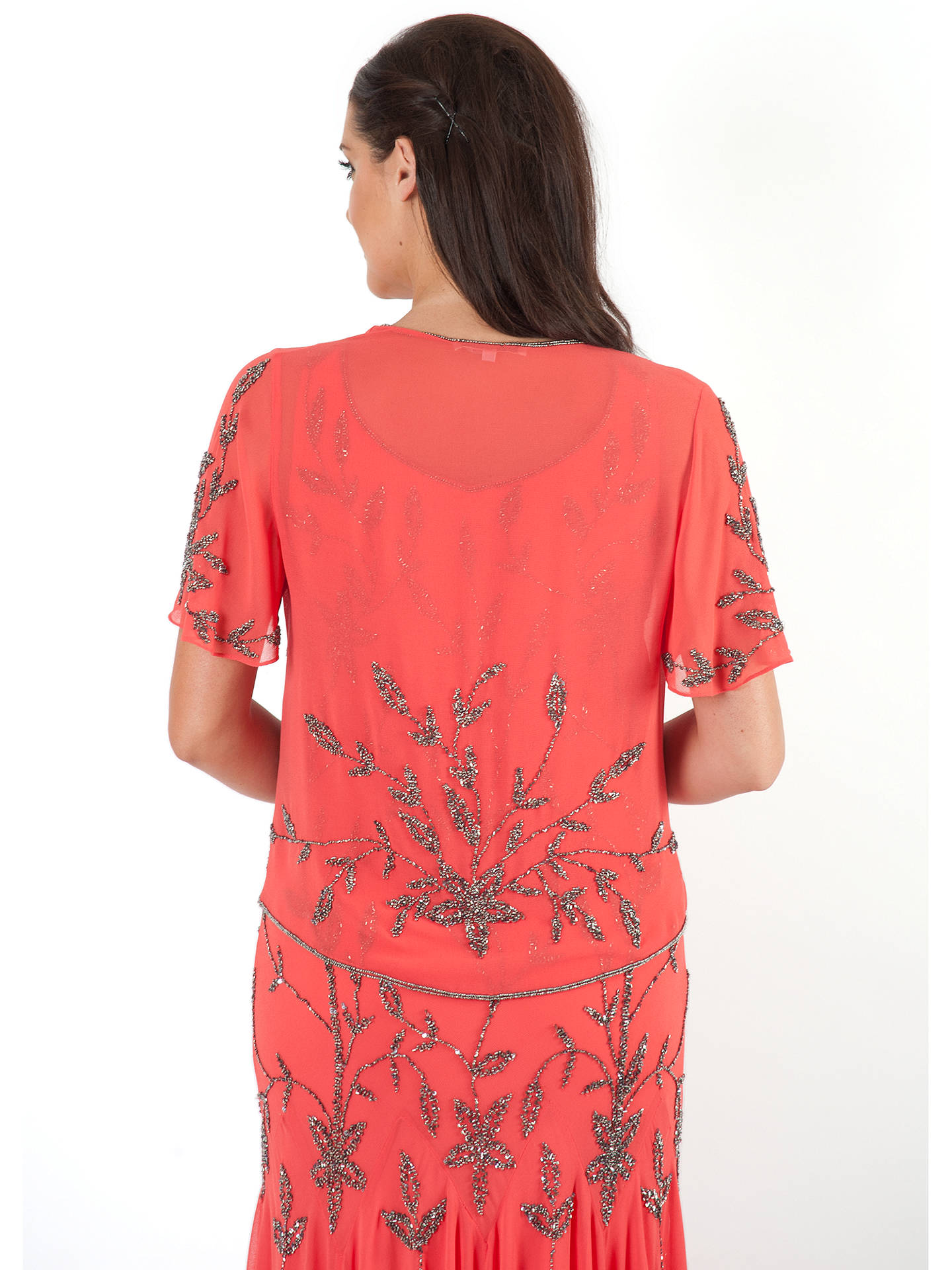 BuyChesca Beaded Bolero, Coral, 12 Online at johnlewis.com