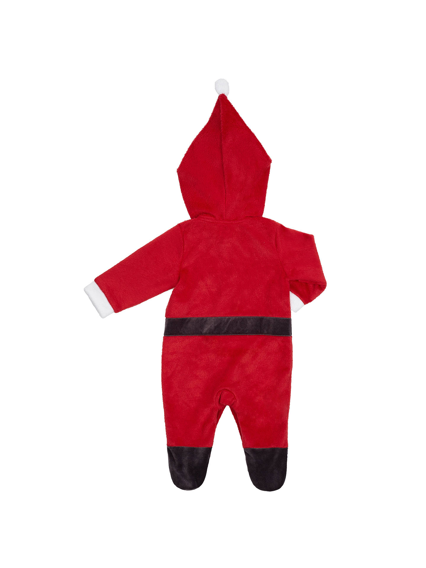 f0dd44b74 ... Buy John Lewis Baby's Father Christmas Dress Up Romper, Red, Newborn  Online at johnlewis ...