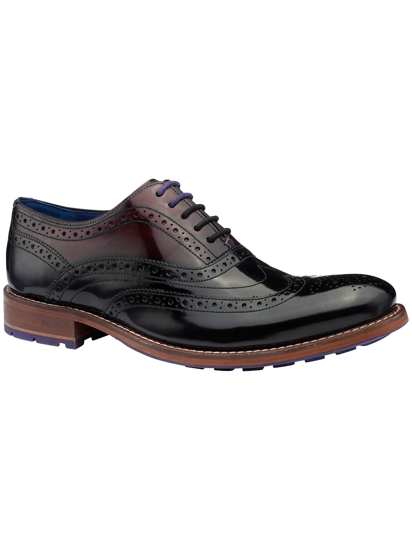 57ce86434 Buy Ted Baker Krelly High Shine Leather Brogues