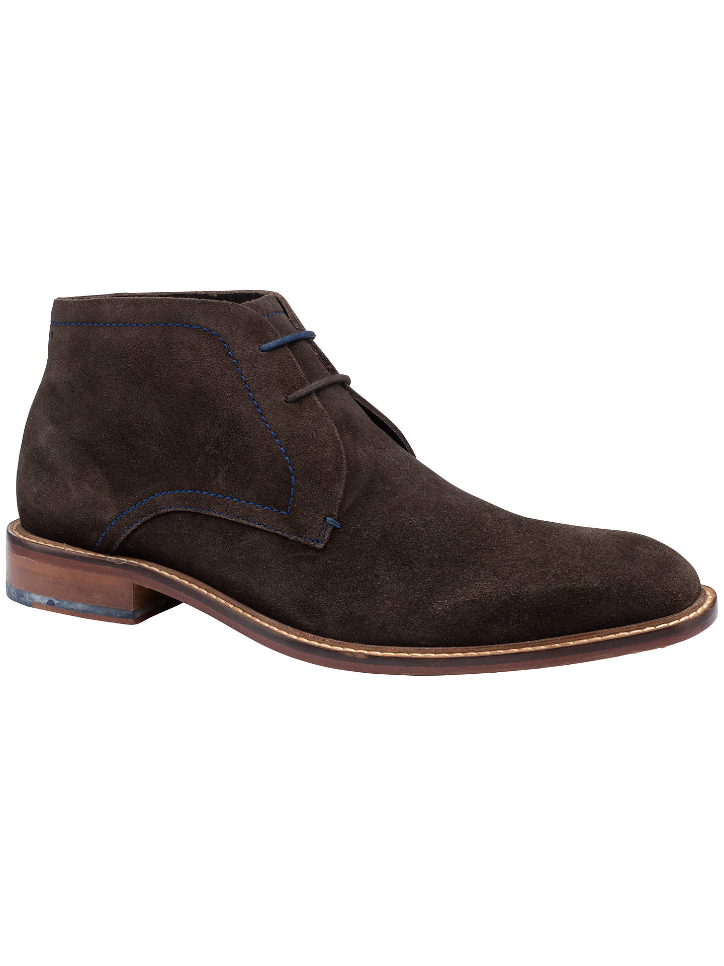 Ted Baker Torsdi Suede Chukka Boots, Brown at John Lewis