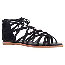 Buy KG by Kurt Geiger Maisy Multi Strap Sandals, Black Online at johnlewis.com
