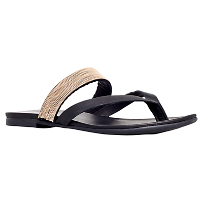 KG by Kurt Geiger Mae Leather Toe Thong Sandals
