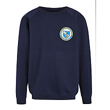 Buy St John's International School Unisex Sweatshirt, Navy Blue, 3-4 years Online at johnlewis.com