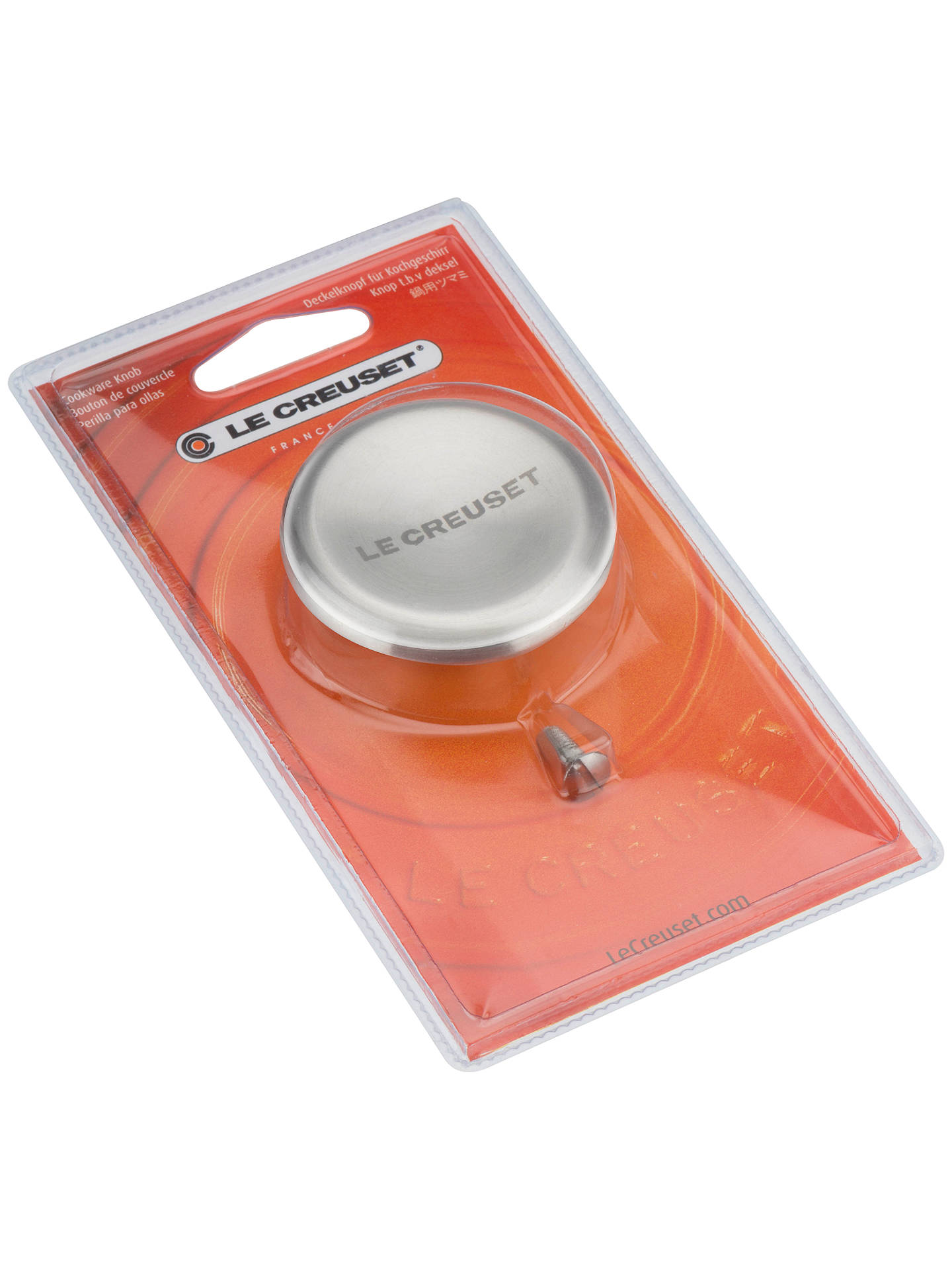 Le Creuset Lifetime Guarantee: Le Creuset Signature Stainless Steel Knob At John Lewis
