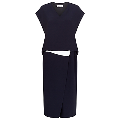 Product photo of Damsel in a dress halston dress navy