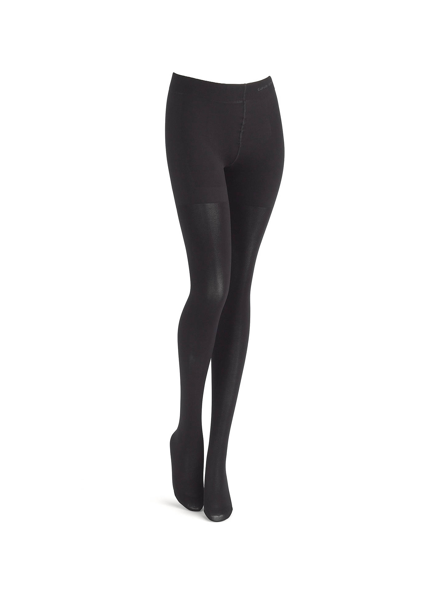 d69801ddb6d1e Buy Calvin Klein 80 Denier Ultra Fit Tights, Black, S Online at johnlewis.