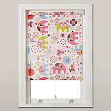 Buy little home at John Lewis Abbey Elephant Blackout Blind Online at johnlewis.com