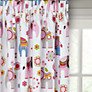 little home at John Lewis Abbey Elephant Pencil Pleat Blackout Lined Children's Curtains
