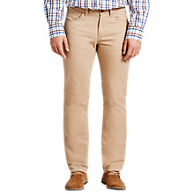 Buy Tommy Hilfiger Mercer Regular Fit Chinos, Khaki Online at johnlewis.com