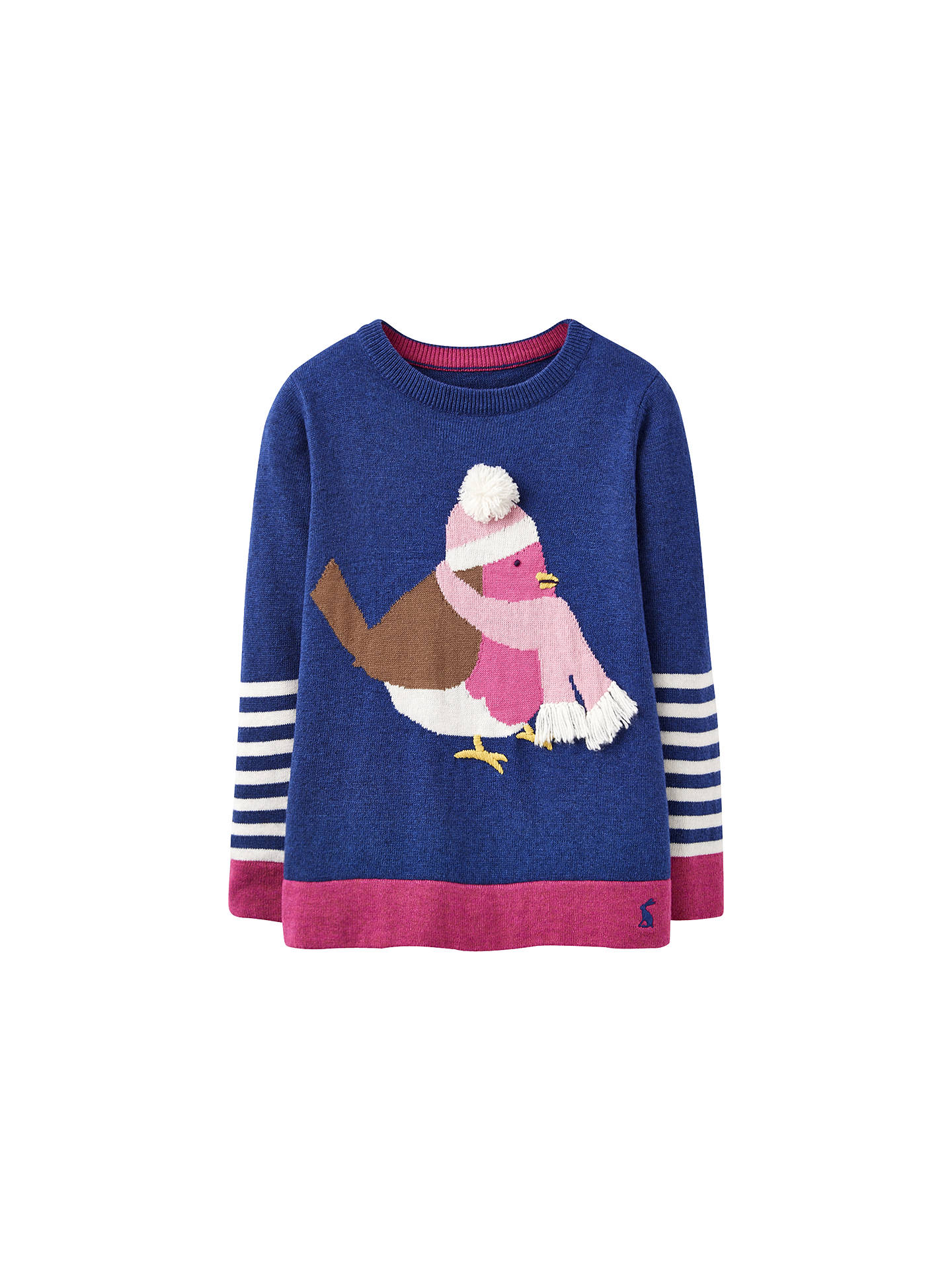 092cec7b3 so cheap 9e20f 2c8ae joules girls baby knitted jumper baby robyn ...