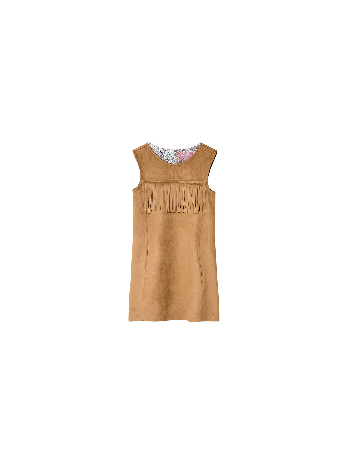 b082ff403 Mango Kids Girls  Faux Leather Dress