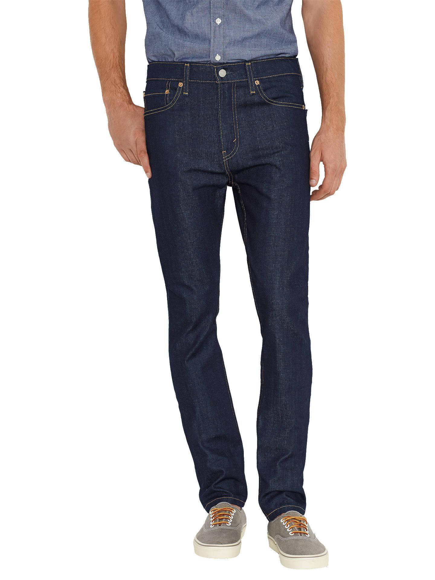 Levi's 510 Skinny Jeans, Broken Raw at John Lewis & Partners