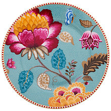 Buy PiP Studio Fantasy Plate, Blue, Dia.17cm Online at johnlewis.com