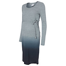 Buy Mamalicious Dip Dye Maternity Dress, Black Iris Online at johnlewis.com
