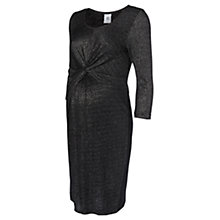 Buy Mamalicious Asti Sparkly Maternity Dress, Black Online at johnlewis.com