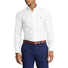 Buy Polo Golf by Ralph Lauren Non-Iron Oxford Shirt Online at johnlewis.com