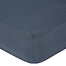 Buy John Lewis Croft Collection 100% Linen Fitted Sheet Online at johnlewis.com