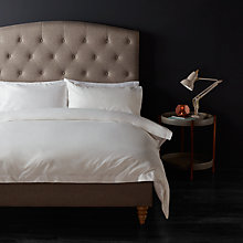 Buy John Lewis 1200 Thread Count Cotton Bedding, White Online at johnlewis.com