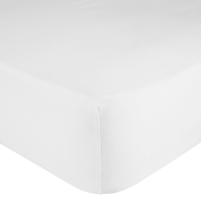 John Lewis Premium Brushed Cotton Deep Fitted Sheet