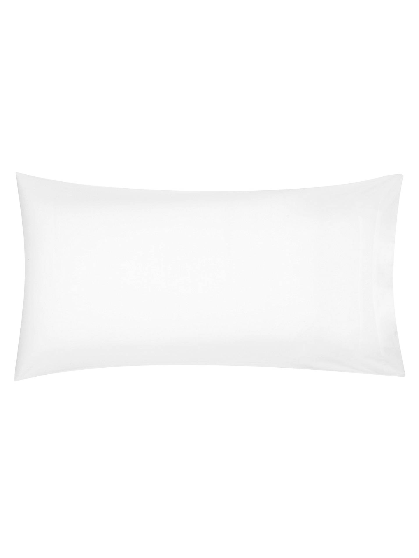 BuyJohn Lewis & Partners Premium Brushed Cotton Duvet Cover, Single, White Online at johnlewis.com