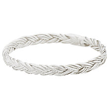 Buy Estella Bartlett Vintage Plait Sterling Silver Ring, Silver Online at johnlewis.com