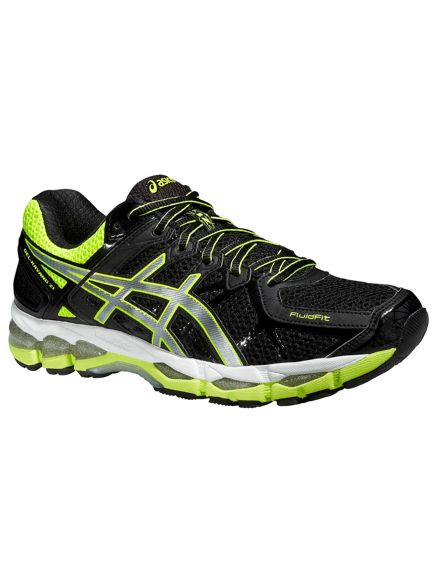 buy online 2ee7c 8e2f9 Buy Asics Gel-Kayano 21 Men s Structured Running Shoes, Black Silver, 7 ...