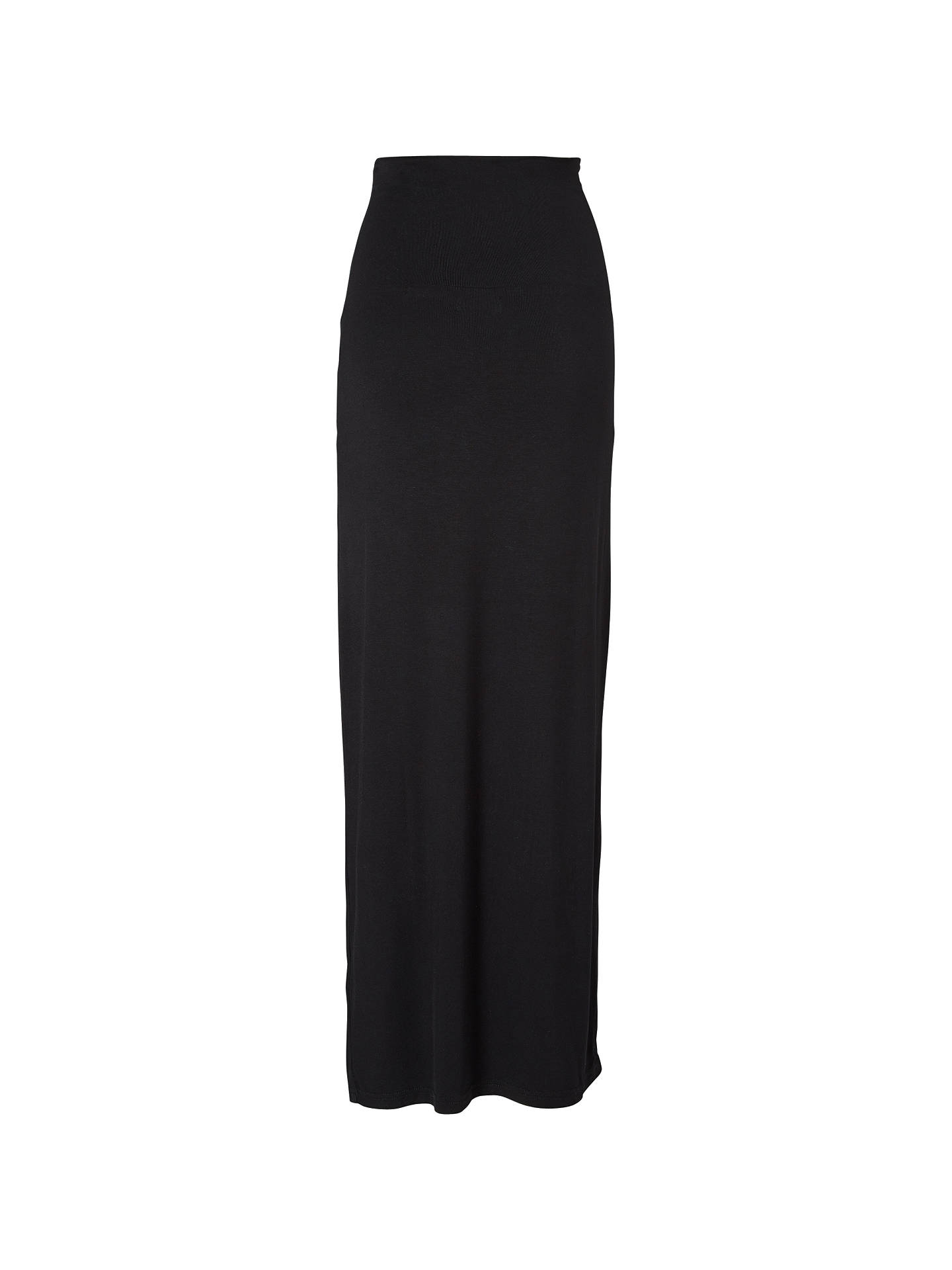 fd45c57bd Buy Mamalicious Rosa Tube Maxi Maternity Skirt, Black, S Online at  johnlewis.com ...