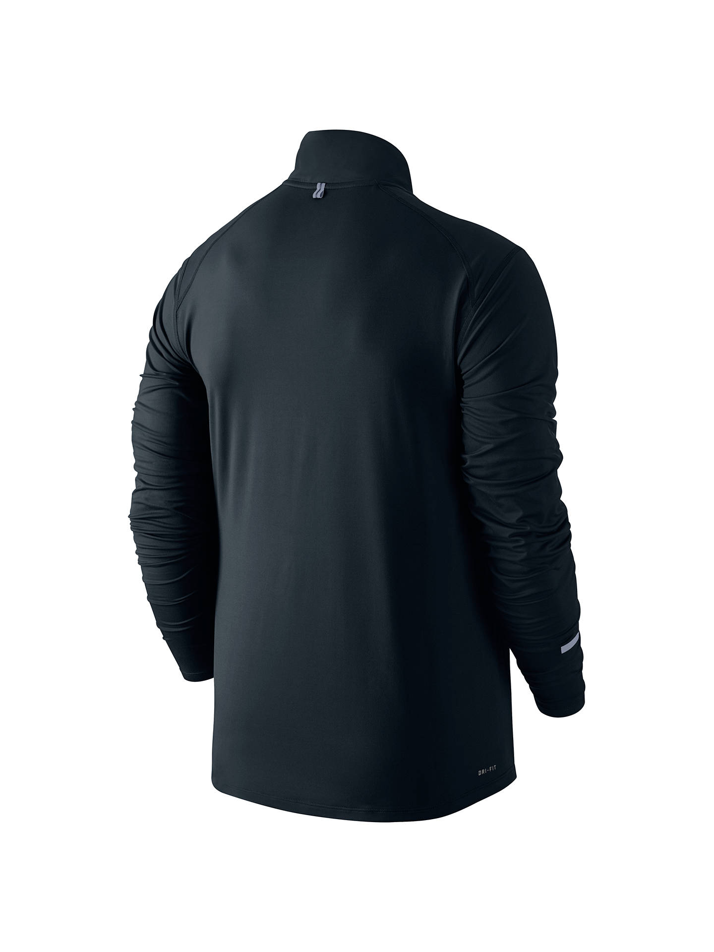99d56350d ... Buy Nike Dri-FIT Element Half-Zip Long Sleeve Running Top, Black, ...