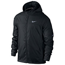 Buy Nike Vapor Running Jacket, Black Online at johnlewis.com