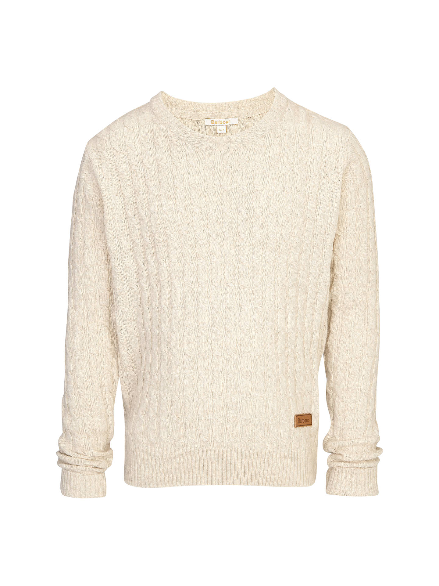 5a6cb47d7a00 Buy Barbour Girls  Lysley Cable Knit Jumper