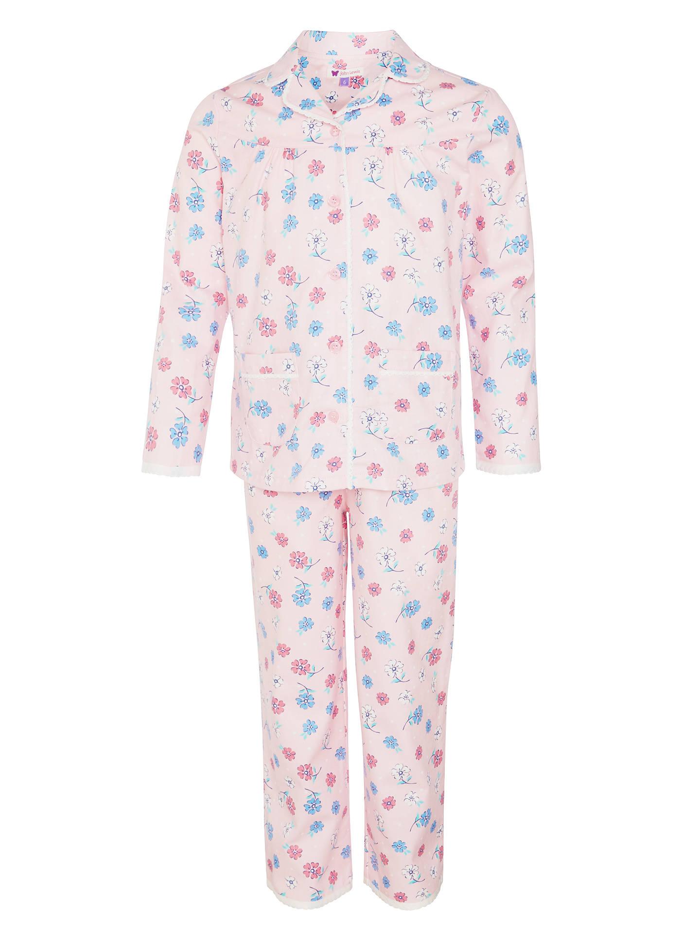 b84a78056 John Lewis Girls  Vintage Rose Print Pyjamas