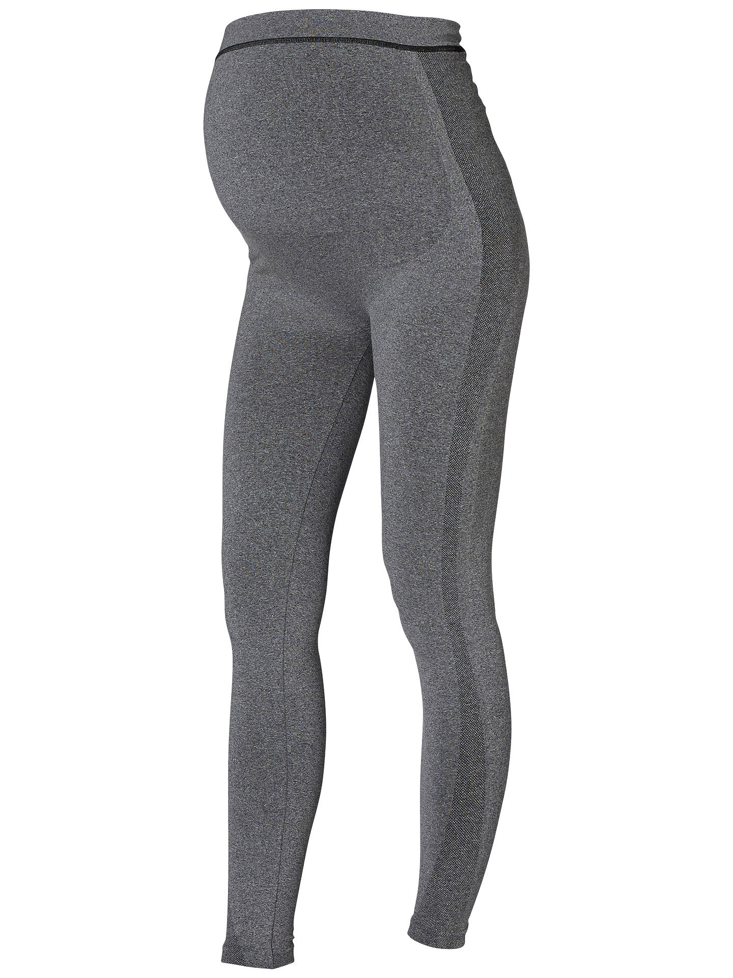 72bec8b9e05eb Buy Mamalicious Maternity Sports Leggings, Grey, S/M Online at  johnlewis.com ...