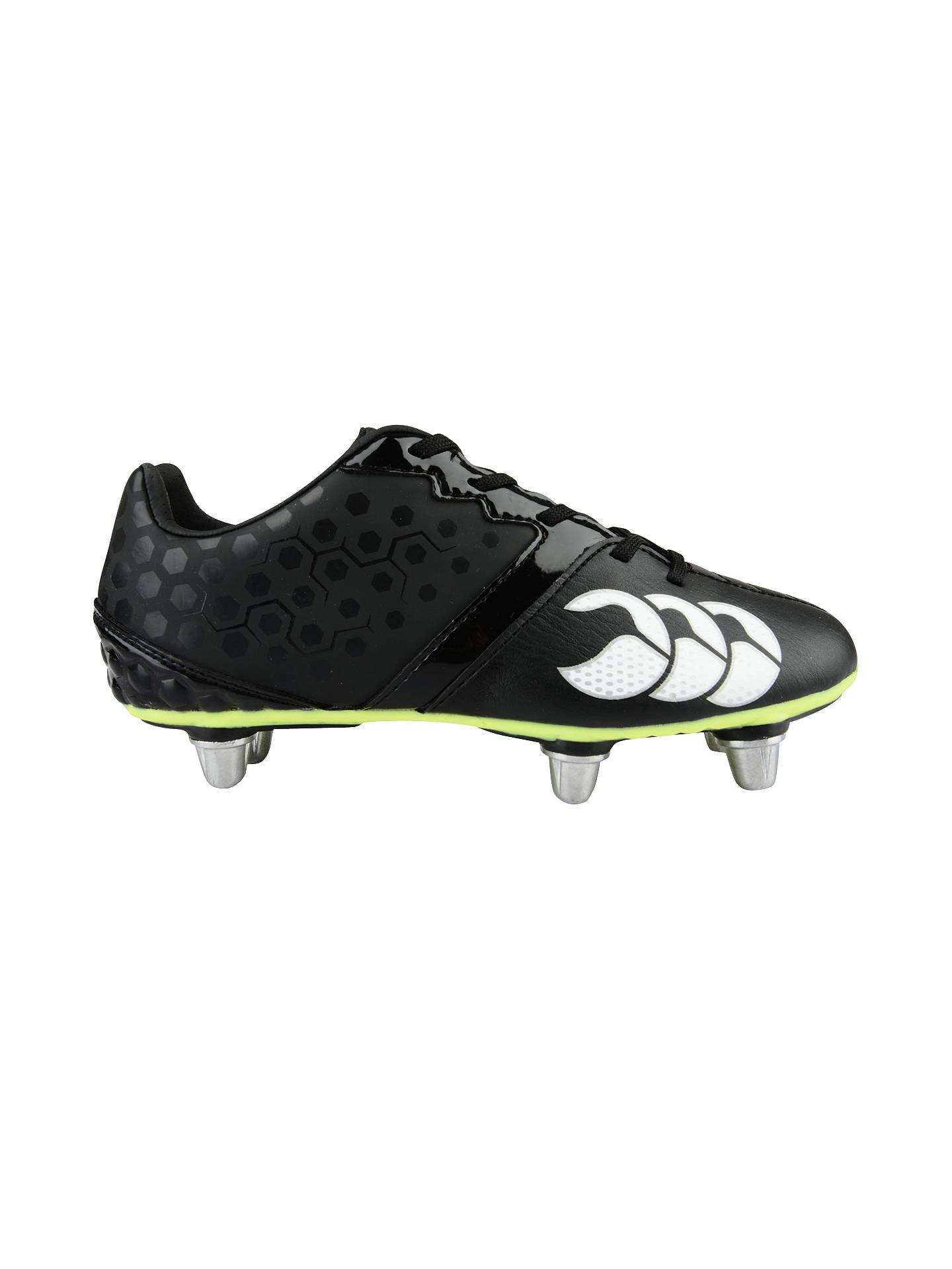 55f6065d976e Buy Canterbury of New Zealand Children's Phoenix Club 6 Stud Football Boots,  Black, 13 ...