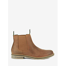 Buy Barbour Farsley Slip On Boots, Brown Online at johnlewis.com