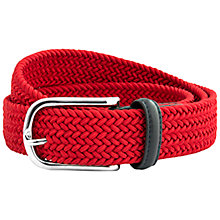 Buy Thomas Pink Carisbrooke Woven Belt Online at johnlewis.com