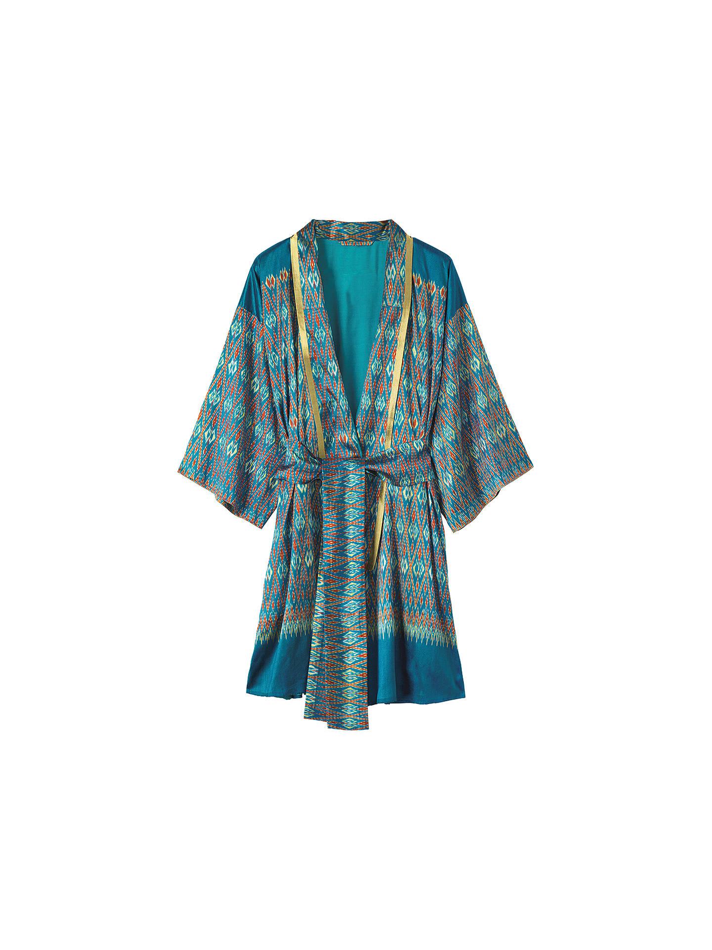 At Silk Ikat John Lewisamp; Partners GownMulti Toast Kimono On0vwmN8