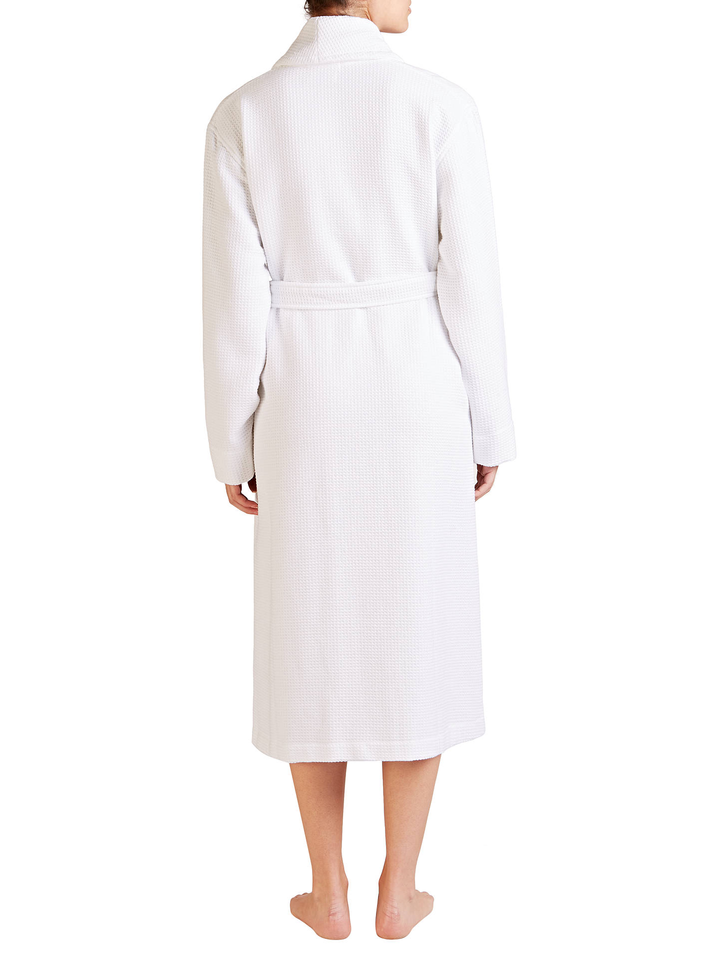 BuyJohn Lewis & Partners Spa Waffle Robe, White, S Online at johnlewis.com